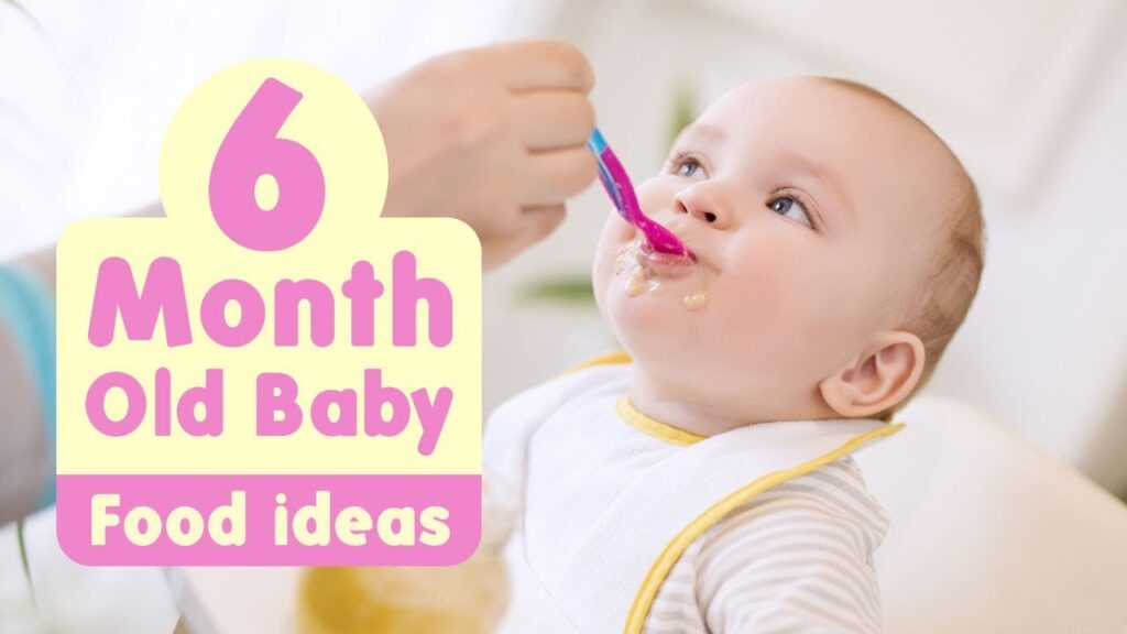 Baby food recipes for babies six months old or older