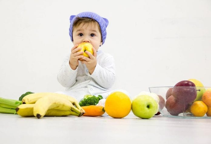 Stage two baby food recipes : Fruits and Vegetables