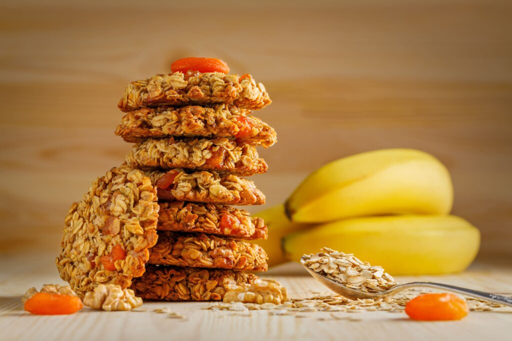 Stage 2 Homemade Healthy Baby food recipes : Banana Oatmeal Cookies-